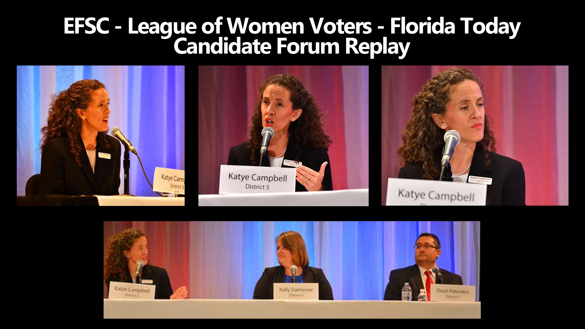 EFSC-LOWV-FT candidate forum